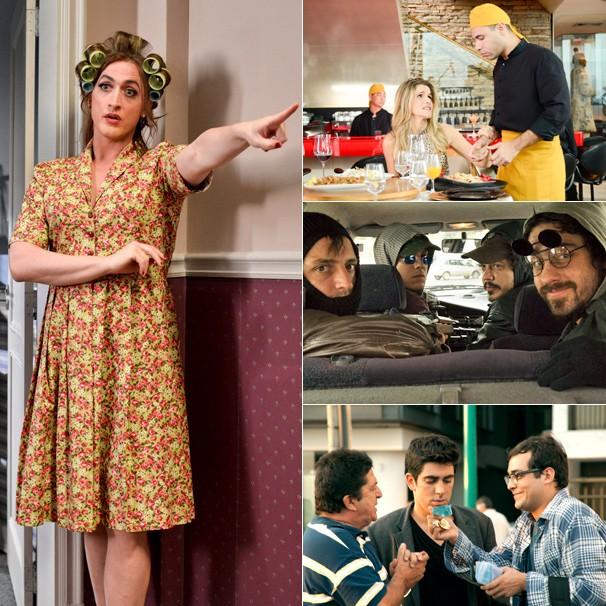 'Vai que Dá Certo', 'Os Penetras', 'Minha Mãe É uma Peça' e 'De Pernas pro Ar 2' estão no Cinema 2014 na Globo (Foto: Divulgação)