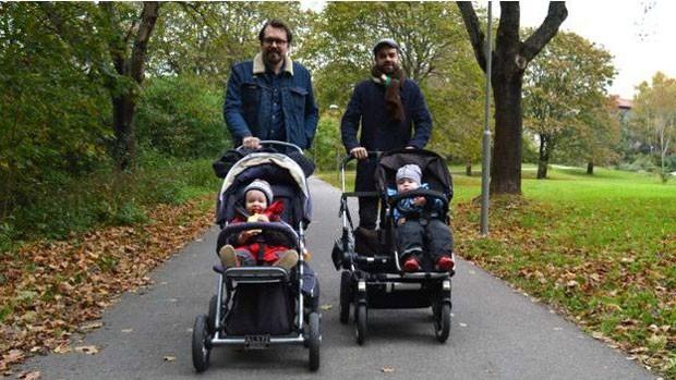 País foi o primeiro do mundo a adotar licença-paternidade, em 1974  (Foto: Andrea Rangecroft)