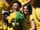 Bruna Marquezine torce pelo Brasil e por Neymar no Mineirão