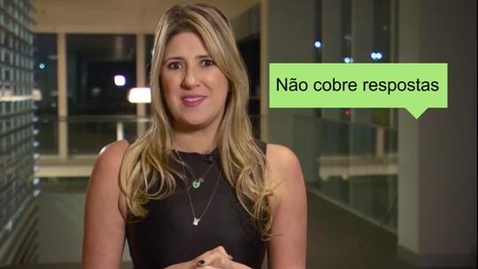 """Dani Calabresa dá dicas para não ser o """"chato"""" do grupo de mensagens"""