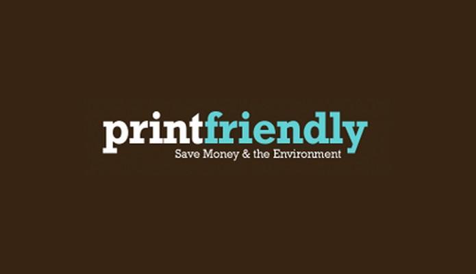 PrintFriendly permite otimizar a impressão de páginas web (Foto: Reprodução/André Sugai)