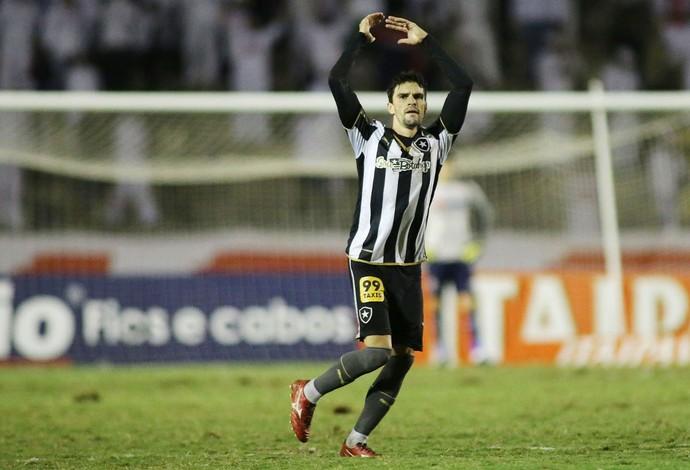 Paraná Botafogo Rodrigo Pimpão (Foto: Giuliano Gomes/ Agência PRPRESS)