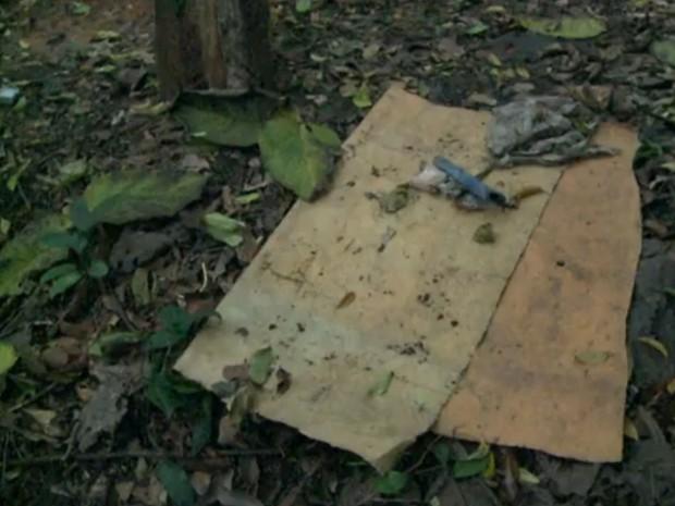 Jovem passou oito dias em situações precárias (Foto: Reprodução / TV Tribuna)