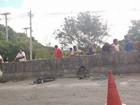 Morre ciclista atropelado em acostamento da RJ-140, em Cabo Frio