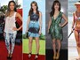 Neo-hippie: famosas investem em look fashion com peças em tie-dye
