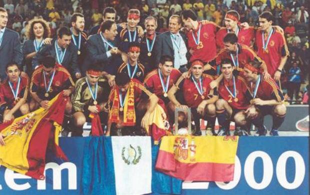 8515a4e637d2d Espanha Mundial Futsal 2000 (Foto  Divulgação Fifa)
