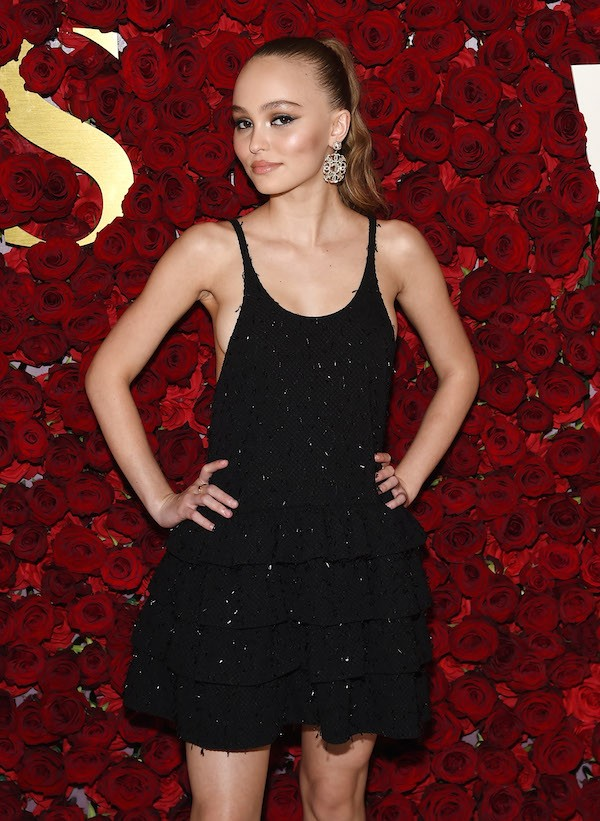 A atriz e modelo Lily-Rose Depp, filha do ator Johnny Depp (Foto: Getty Images)