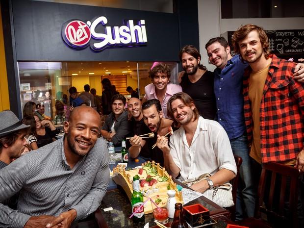 Famosos em inauguração de restaurante na Zona Sul do Rio (Foto: Marcos Samerson/ Agência We love Photo!/ Divulgação)