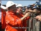 Trabalhadores do Polo Naval serão recontratados, afirma Dilma no RS
