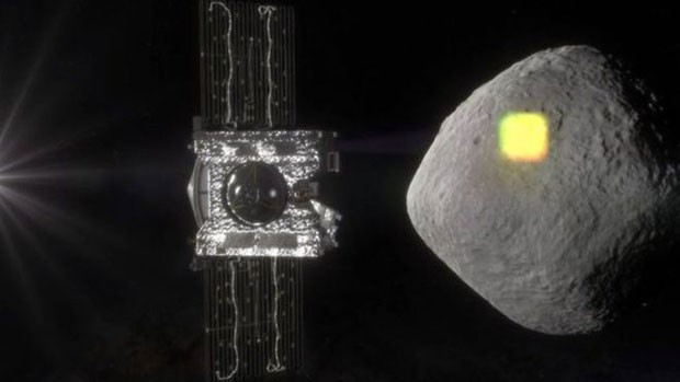 A Nasa vai lançar em setembro uma sonda para estudar o asteroide Bennu (Foto: BBC/Nasa)
