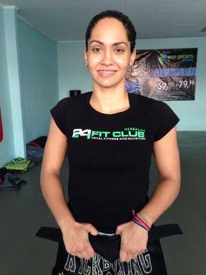 Capixaba Bárbara Nepomuceno estreia no kickboxing profissional no WGP 21 (Foto: Divulgação/Arquivo Pessoal)