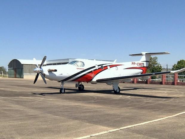 Aeroporto de Pouso Alegre´, MG, terá serviço de táxi aéreo a partir de outubro (Foto: Reprodução/EPTV)
