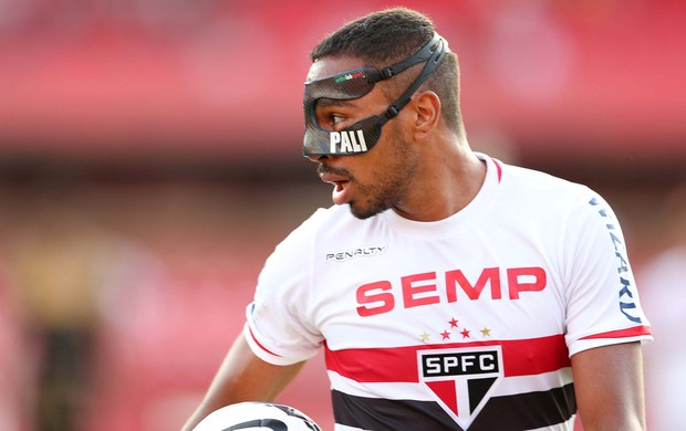 Álvaro Pereira São Paulo x Botafogo (Foto: Marcos Ribolli)