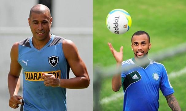 O Botafofo joga pela Libertadores e o Palmeiras encara o XV de Piracicaba (Foto: globoesporte.com)