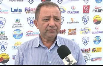 Com apenas dois treinos, novo técnico do Atlético-PB estreia contra Santa-PB