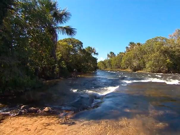 As belas paisagens da região entre os estados do Maranhão, Tocantins, Piauí e Bahia (Foto: Globo)