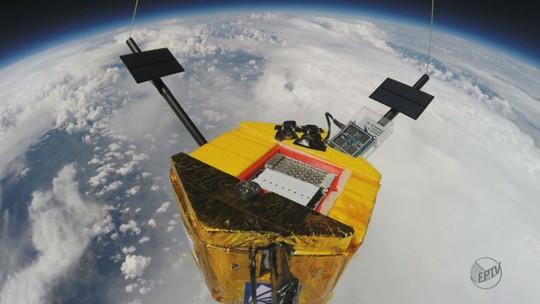 Grupo lança balão estratosférico em novo passo para a 1º missão à Lua