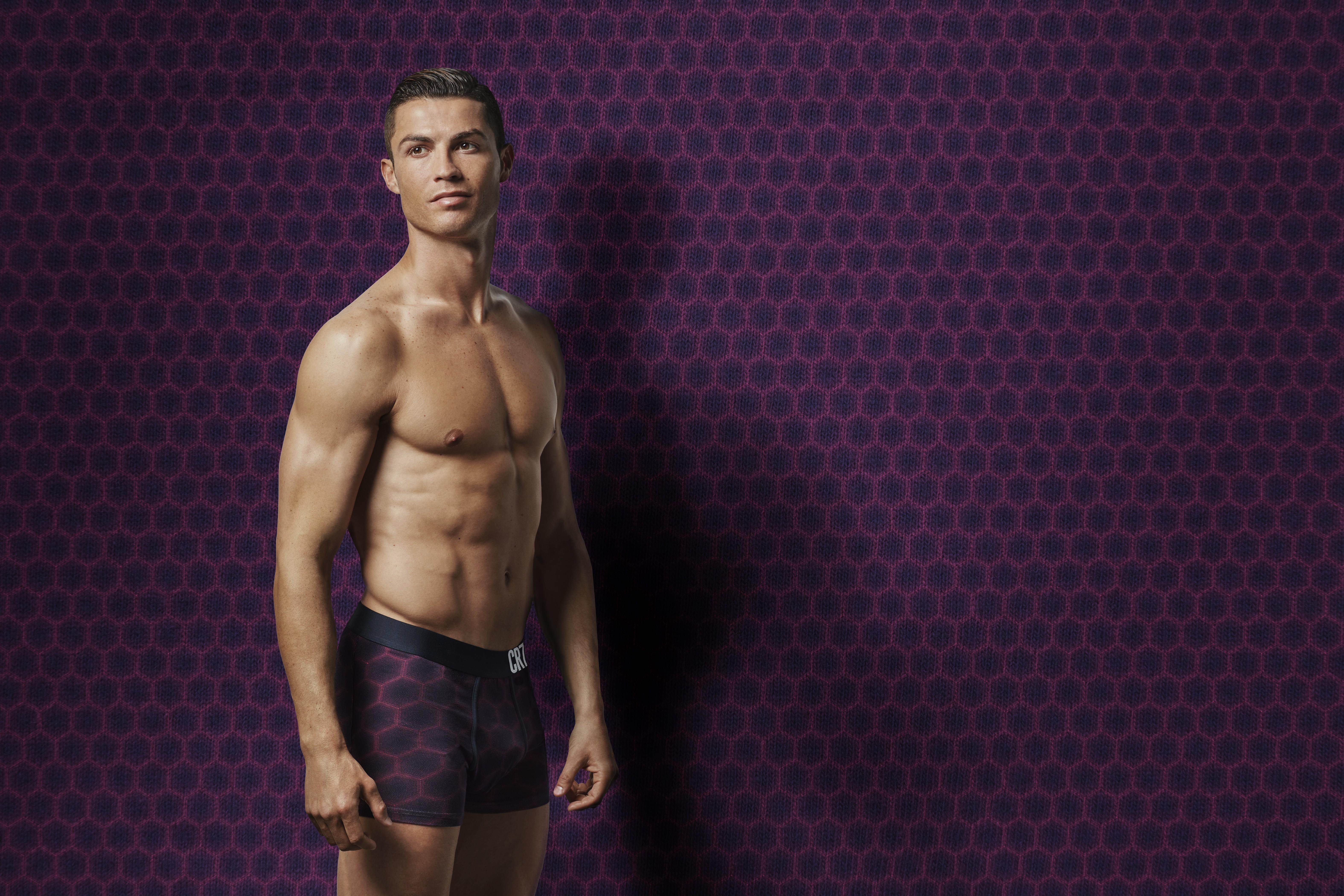 Cristiano Ronaldo apresenta nova coleção da CR7 Underwear (Foto: Divulgação)