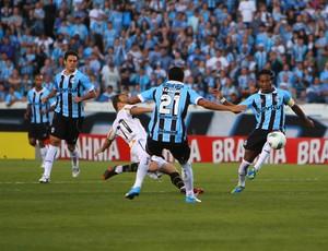 Grêmio contra o Botafogo (Foto: Lucas Uebel/Divulgação, Grêmio)