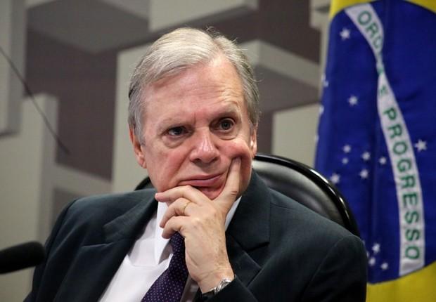 O senador Tasso Jereissati foi destituído da presidência do PSDB por Aécio Neves (Foto: Gerdan Wesley/Agência Senado)