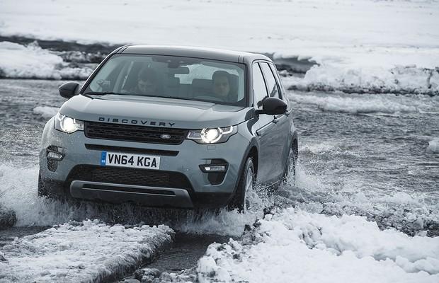 Land Rover Discovery Sport na Islândia (Foto: Divulgação)