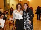 Ângela Vieira e Claudia Mauro vão a estreia de peça no Rio