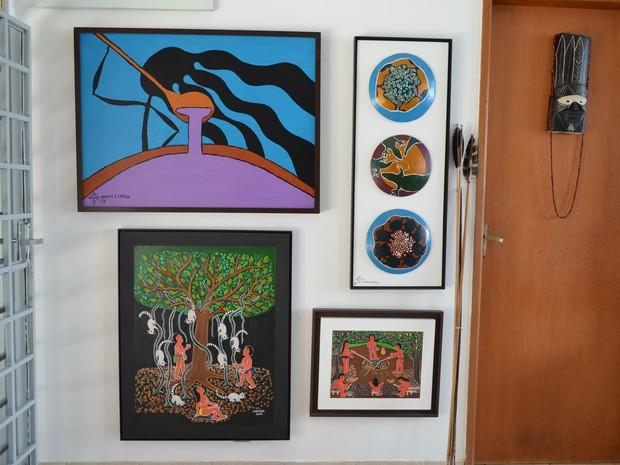 Galeria em Boa Vista (Foto: Valéria Oliveira/G1)