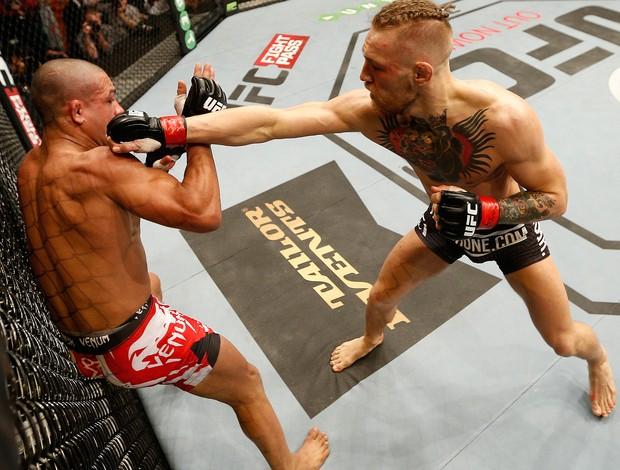 UFC Conor McGregor Diego Brandao (Foto: Agência Getty Images)