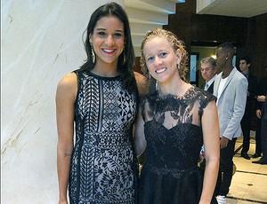 Joanna Maranhão e Yane Marques Prêmio Brasil Olímpico (Foto: Fábio Leme)
