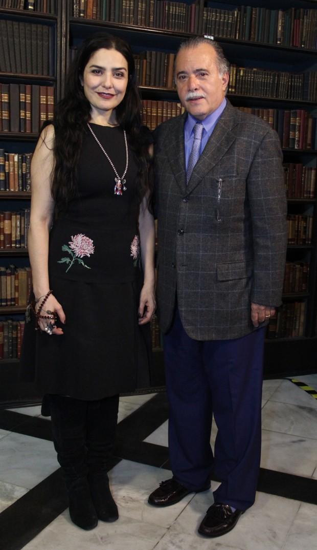 Letícia Sabatella e Tony Ramos (Foto: Agnews)