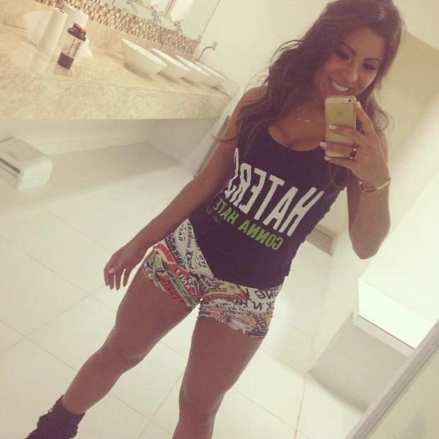 Alessandra Ferreira, namorada de Thammy Miranda (Foto: Instagram/ Reprodução)