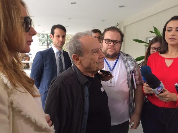 Stênio Garcia disse que quer defender jovens que têm imagens expostas (Foto: Lívia Torres / G1)