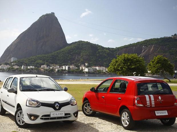 Renault Clio 2013 teve visual atualizado (Foto: Divulgação)
