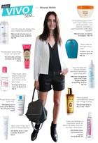 Modelo Amanda Wellsh dá dicas de produtos de beleza