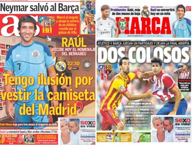 neymar jornais barcelona (Foto: Reprodução)