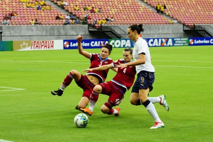 Itália e Rússia Torneio Internacional de Manaus (Foto: Mauro Neto/Sejel)
