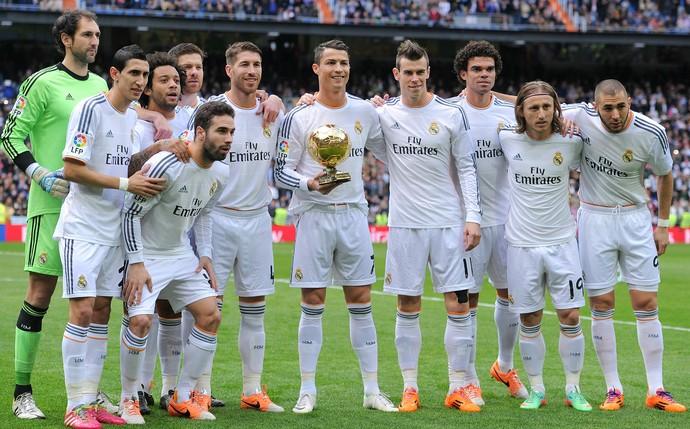 Cristiano Ronaldo Bola de Ouro Real Madrid (Foto: Getty Images)