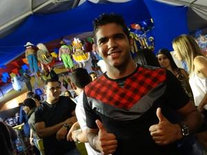 Bruno Santos (Foto: André Hilton / TV Asa Branca)