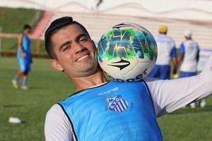 Cabralzinho, atacante Sinop (Foto: Julio Tabile/Sinop FC)