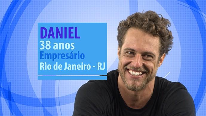 Daniel participante do BBB16 (Foto: Gshow)