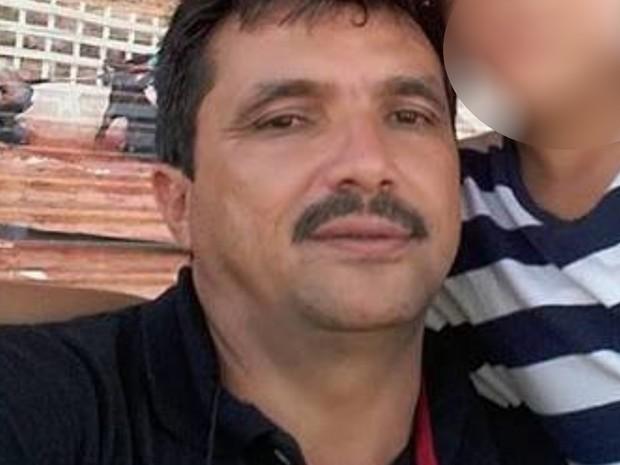 Damião Malvino foi morto a tiros após disputa de ponto de venda de coco em Goiânia Goiás (Foto: Reprodução/Facebook)