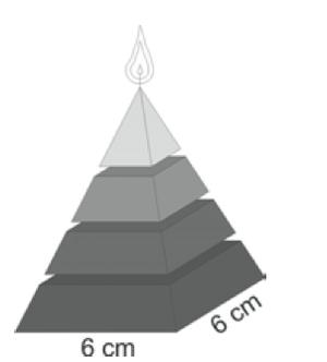 Exemplo de pirâmide (Foto: Reprodução/ENEM)