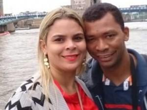 Casal vitimado no acidente (Foto: Portal Folha de Oeiras)