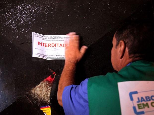 Bares foram fiscalizados após denúncias repassadas por moradores (Foto: Valter Andrade/Prefeitura de Jaboatão/Divulgação)