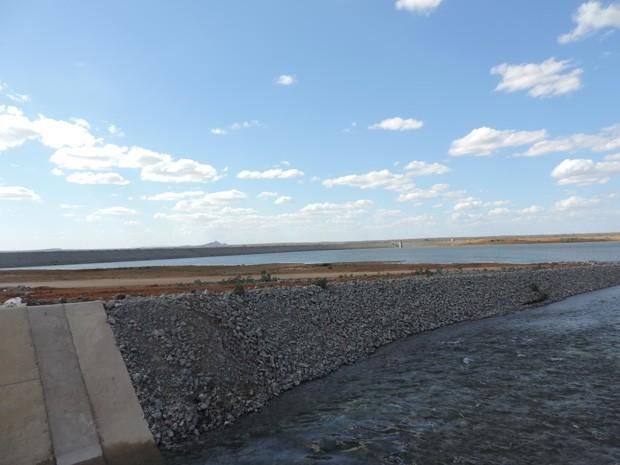 Local onde hoje é a Barragem de Areias era usado como espaço de criação de bodes soltos (Foto: Katherine Coutinho / G1)