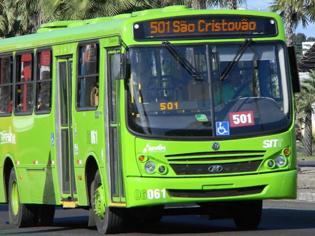 Transporte Público Urbano de Teresina (Foto: Patrícia Andrade/G1)