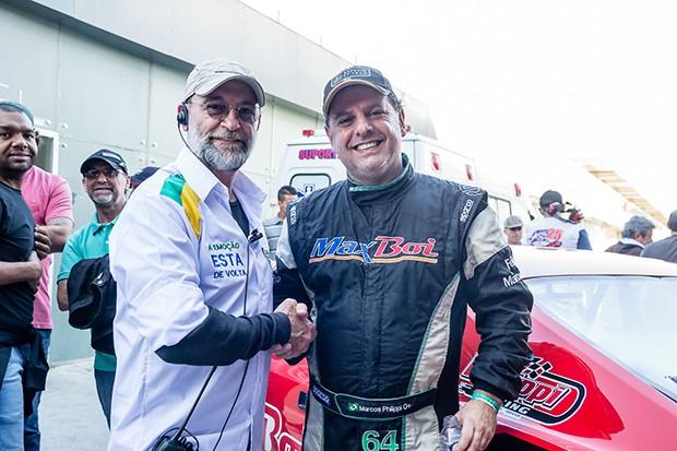 Paulo Soraris e Marcos Philippi #64 vencedor do final de semana (Foto: Divulgação/Andre Lemes)