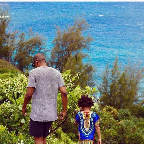Jay-Z e Blue Ivy (Foto: Reprodução/Instagram)