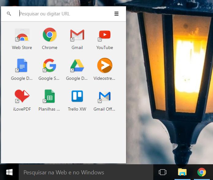 Inicializador de aplicativos do Google Chrome chega ao fim em julho (Foto: Reprodução/Filipe Garrett)
