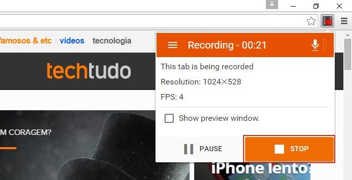 Como gravar a tela do Google Chrome com Screencastify